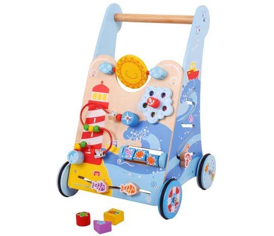 trotteur pousseur comparer et acheter pousseur b b et chariot de marche en bois. Black Bedroom Furniture Sets. Home Design Ideas
