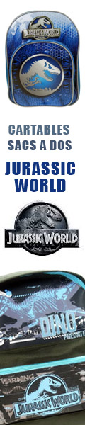 Cartables Jurassic World